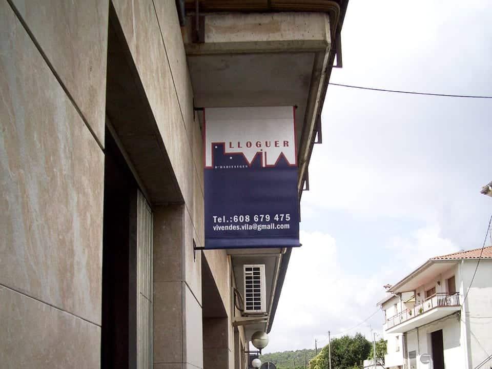 banderola lona